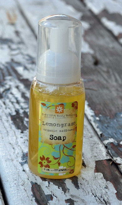 DaySpa All Natural Organic Lemongrass Liquid Foaming Hand Soap | Naturally Montana