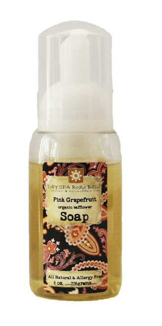 DaySpa All Natural Organic Pink Grapefruit Liquid Foaming Hand Soap | Naturally Montana