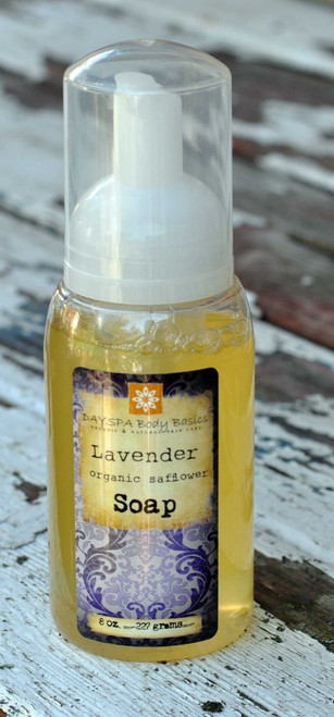 DaySpa All Natural Organic Lavender Liquid Foaming Hand Soap | Naturally Montana