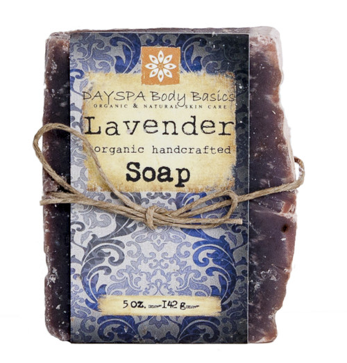DaySpa All Natural Organic Handcrafted Lavender Soap Bar | Naturally Montana