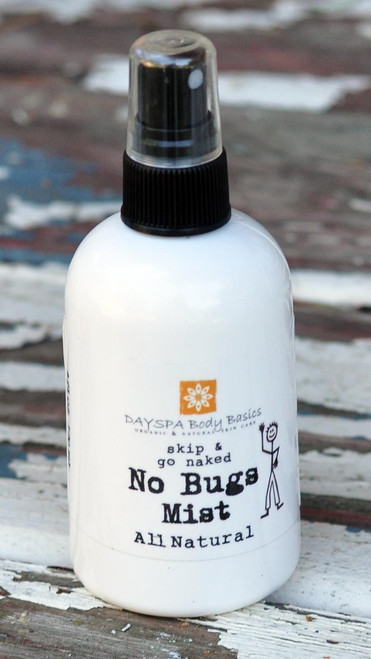 DaySpa All Natural Organic Skip & Go Naked No Bugs Mist Insect Repellant | Natural Bug Spray | Naturally Montana