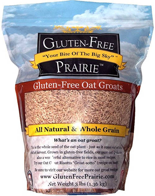 Gluten Free Prairie All Natural Oat Groats 3 lb | Naturally Montana