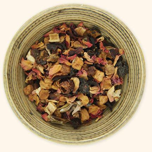 Tumblewood Teas Herbal Raspberry Rose Petal Tea | Naturally Montana