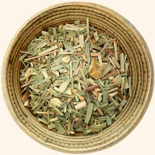 Tumblewood Teas Organic Herbal Sweet Grass Celebration Tea Leaves | Naturally Montana