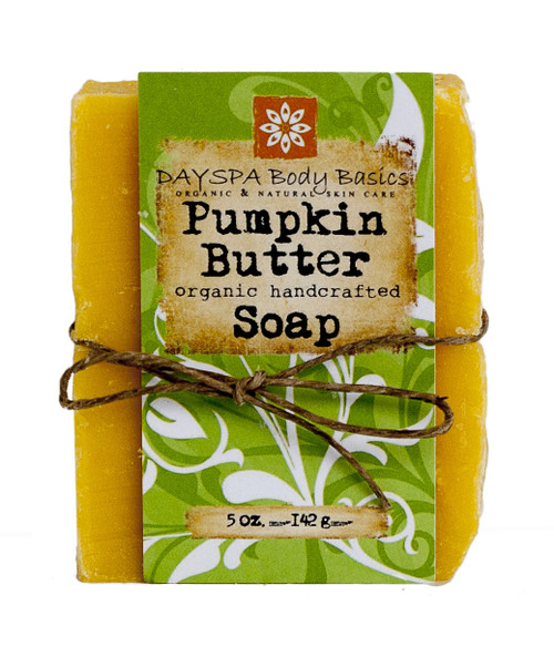 DaySpa All Natural Organic Handcrafted Pumpkin Butter Soap Bar | Naturally Montana