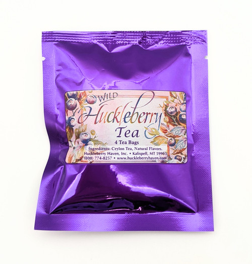 Huckleberry Haven Wild Huckleberry Tea Pack | Naturally Montana