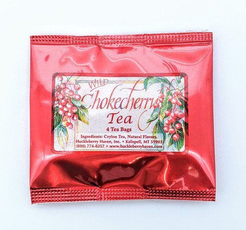 Huckleberry Haven | Wild Chokecherry Tea Pack | Naturally Montana