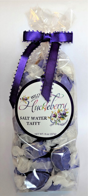 Montana Wild Huckleberry Salt Water Taffy | Naturally Montana