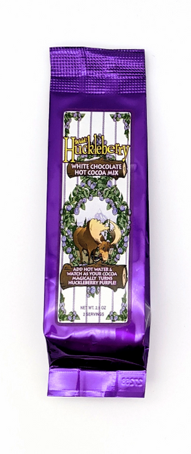 Huckleberry Haven | Wild Huckleberry White Chocolate Hot Chocolate | Naturally Montana