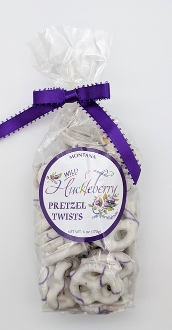 Huckleberry Haven | Montana Wild Huckleberry Pretzel Twists | Naturally Montana