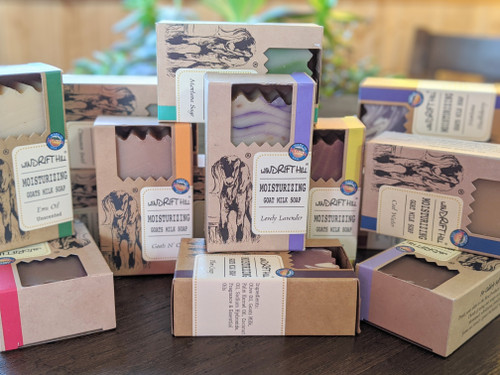 Windrift Hill All Natural Goat Milk Soap Bars Variety | Naturally Montana