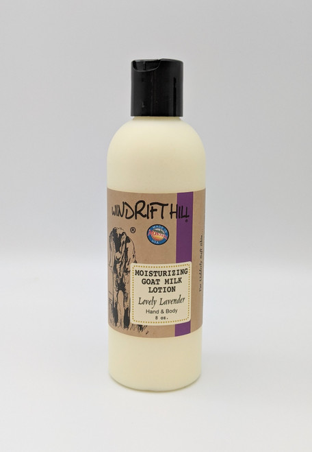 Windrift Hill Lovely Lavender All Natural Goat's Milk Lotion | Naturally Montana