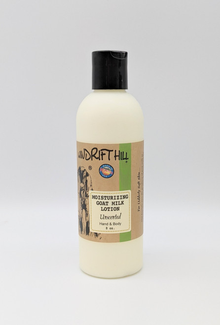 Windrift Hill Unscented Goat's Milk Lotion | Natural Skincare | Naturally Montana