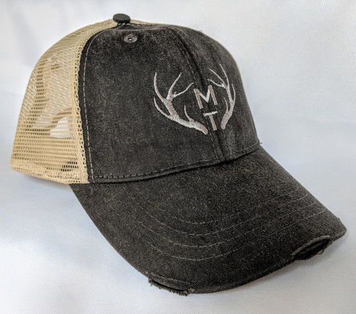 MT Brand Apparel Montana Antler Trucker Hat | Naturally Montana