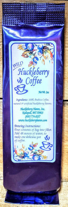 Wild Huckleberry Coffee Packet 2oz Serving | Naturally Montana