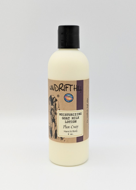 Windrift Hill Plum Crazy Goat's Milk Lotion | Natural Skincare | Naturally Montana