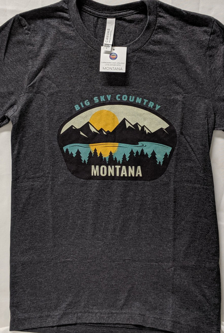 MT Brand Apparel Montana Big Sky Country - Unisex Crew Neck Tee SS | Naturally Montana