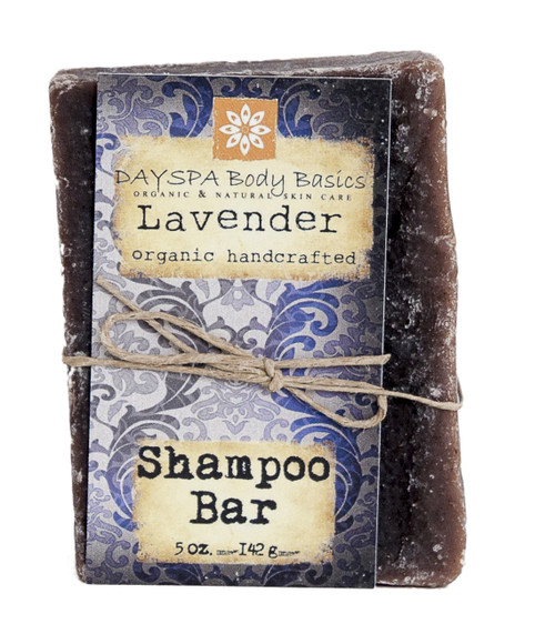 DaySpa All Natural Lavender Shampoo Bar - Organic | Naturally Montana