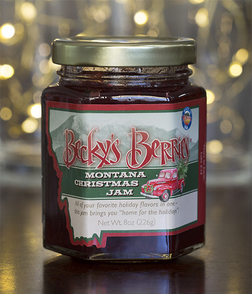 Becky's Berries Montana Christmas Jam | Naturally Montana