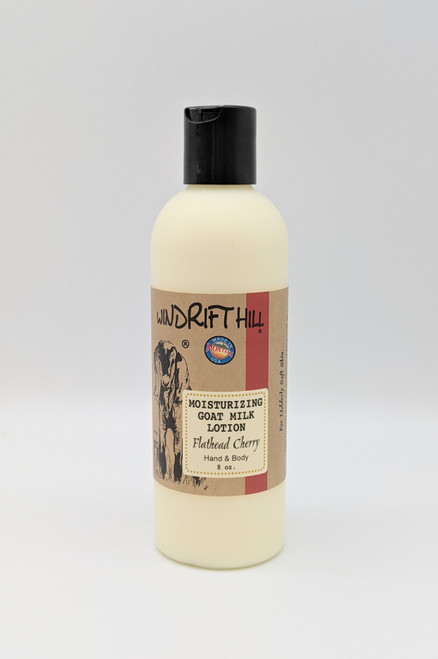 Windrift Hill Flathead Cherry Goat's Milk Lotion | Natural Skincare | Naturally Montana