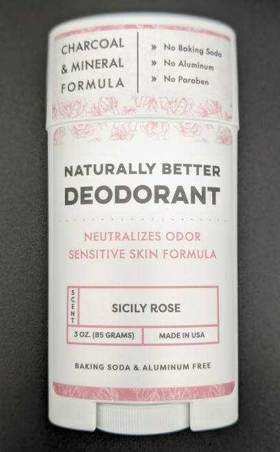 DaySpa All Natural Organic Sicily Rose Deodorant Stick | Naturally Montana
