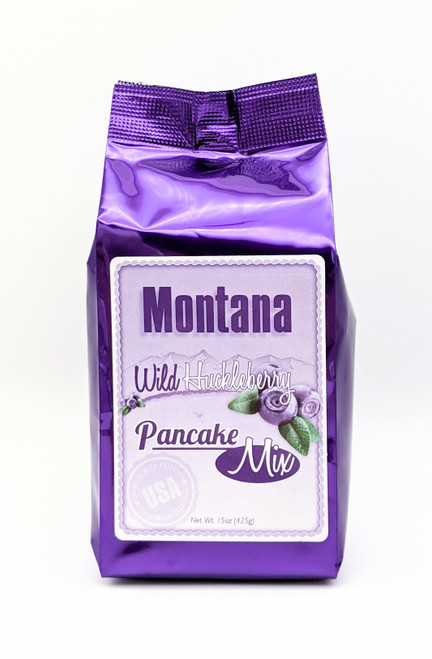 Huckleberry Haven | Wild Huckleberry Pancake Mix | Naturally Montana