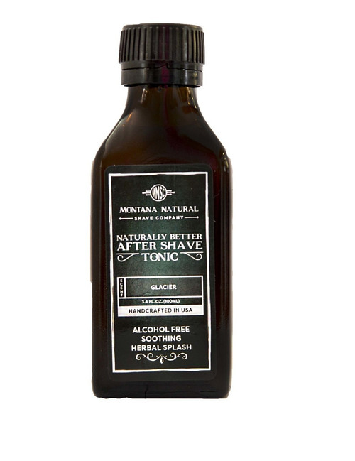 Montana Natural Shave Company All Natural Organic Glacier After Shave Tonic | Naturally Montana