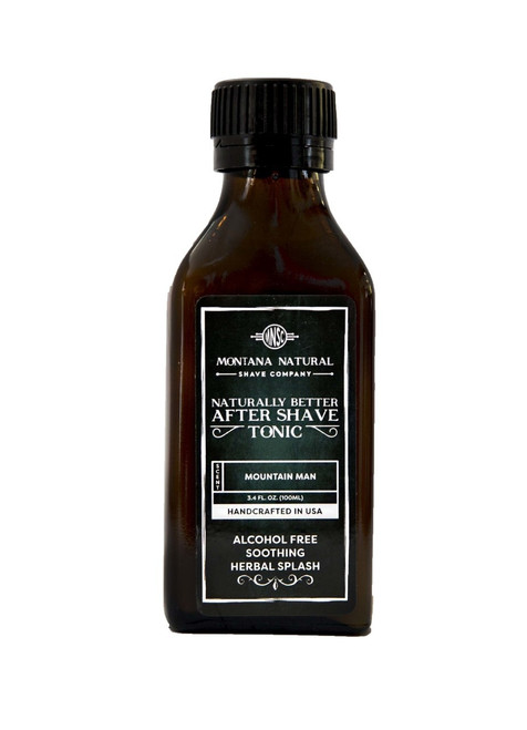 Montana Natural Shave Company All Natural Organic Mountain Man After Shave Tonic | Naturally Montana