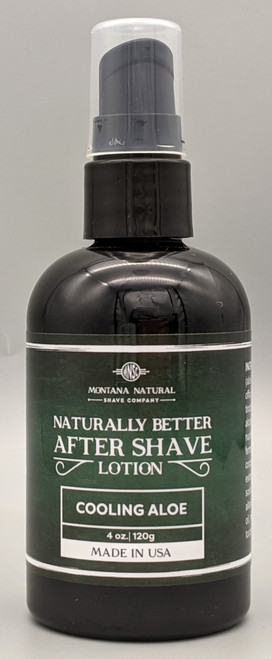 Montana Natural Shave Company Naturally Better After Shave Lotion 4 oz | Naturally Montana