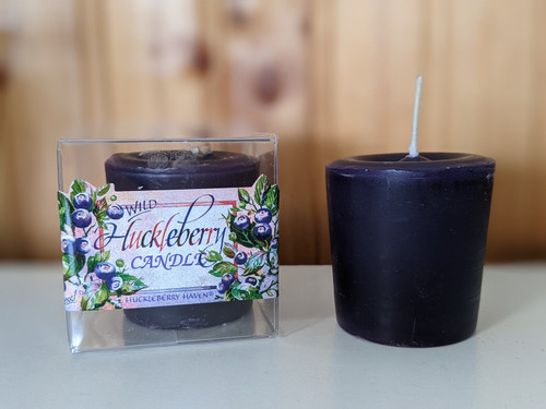 Huckleberry Haven Huckleberry Votive Candle | Huckleberry Gifts | Huckleberry  Candle | Naturally Montana
