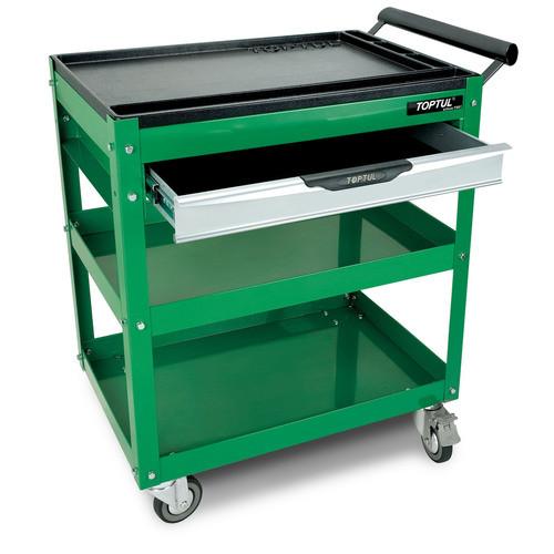 Toptul TCAD0101 1-Drawer Service Cart Green