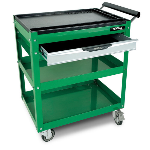 Toptul TCAD0101 1-Drawer Service Cart Green