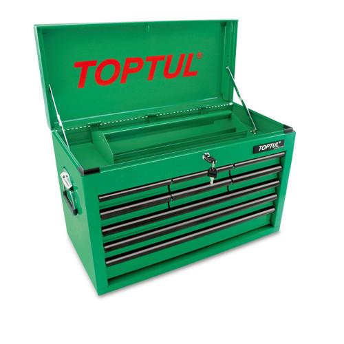 Toptul TBAA0901 Mobile Tool Chest Green 9 Drawer