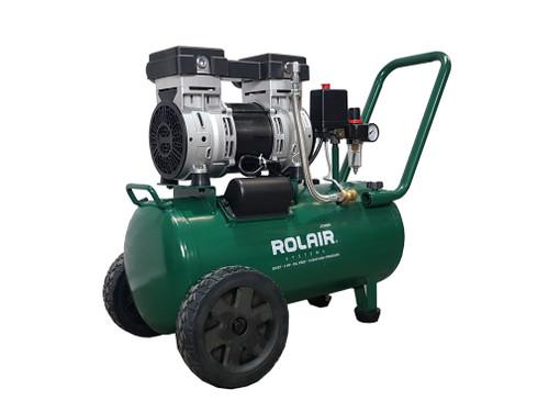 ROLAIR JC30WH AIR COMPRESSOR QUIET OIL FREE 2HP 150PSI