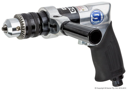 "1/2"" Capacity Reversible Keyed Drill"