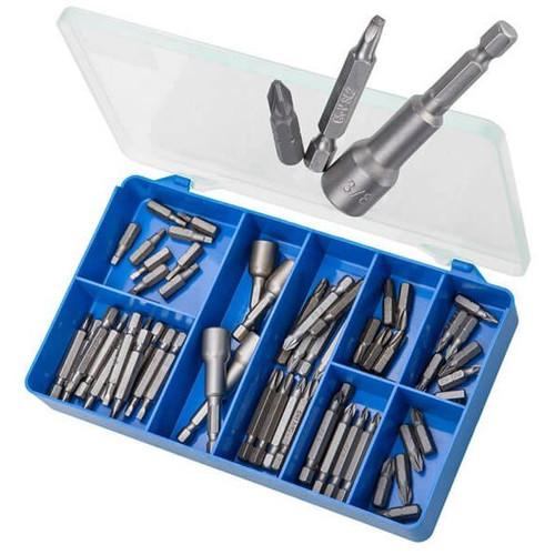 Torres HAK39 - 60 PCE Pozidrive, Square & Magnetic Nut Settters Kit