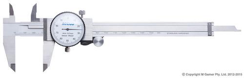Accud 0-150mm Dial Caliper