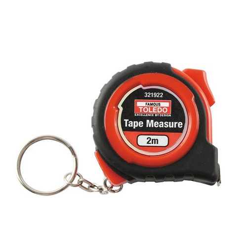 TOLEDO TAPE MEASURE METRIC 2 METRE SINGLE SIDED