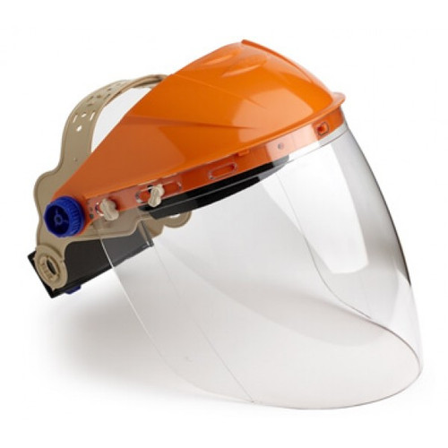 STRIKER BROWGUARD WITH VISOR CLEAR LENS