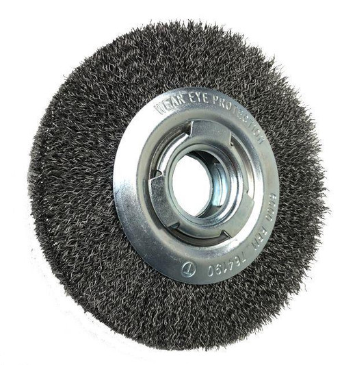 WHEEL BRUSHES WITH ARBOR