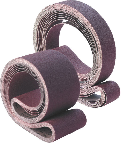 LINISHING BELTS - ALUMINIUM OXIDE - GENERAL PURPOSE