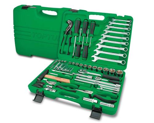 """Toptul GCAI8002 Professional Tool Kit 6PT 1/4"""" 1/2"""" 80pcs"""