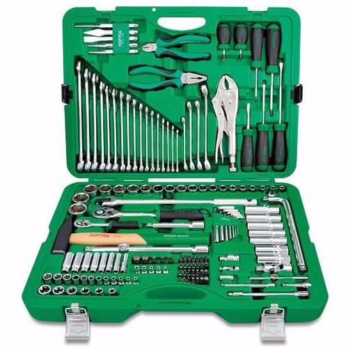 """Toptul GCAI150R1 Tool Kit 12PT 1/4"""" & 1/2"""" 150pcs"""