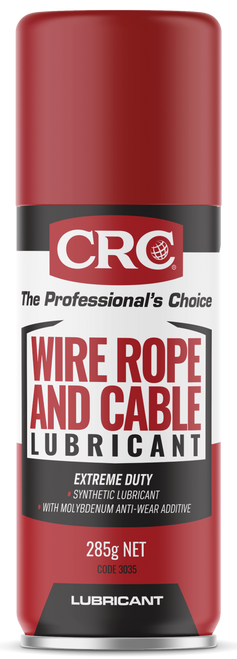 CRC WIRE ROPE AND CABLE LUBRICANT 285G