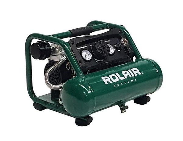 Rolair AB5 Air Buddy 1/2hp ultra quiet oil-free air compressor