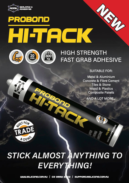 High Strength Fast Grab Adhesive