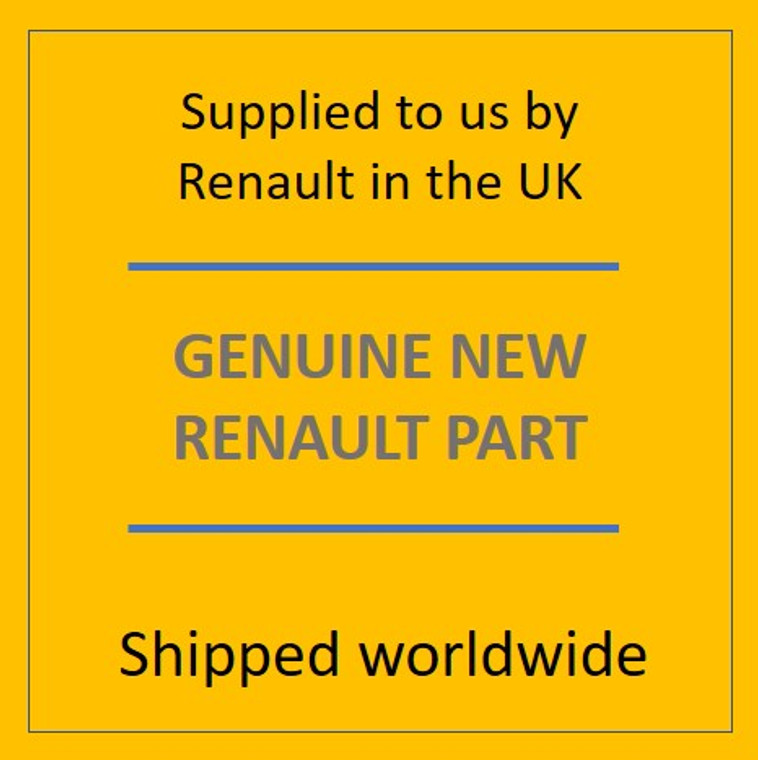 Genuine Renault 788261002R CONDAMNATION TRAP