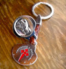 Camino de Santiago St. James Apostle Pilgrim Souvenir Key Ring