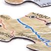 Camino de Santiago Magnetic Map Puzzle