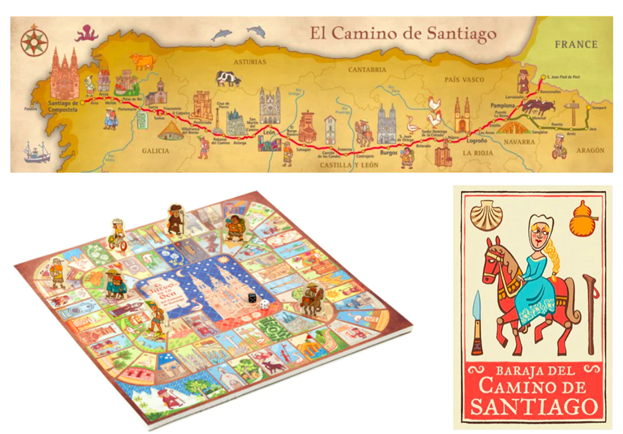 Camino Games and Map Collection